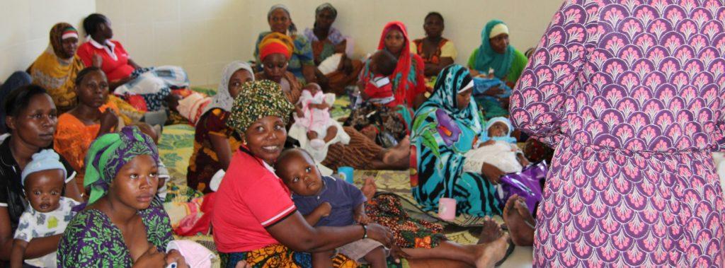Föräldrautbildning med ASBAHT på MOI-sjukhuset, Dar es Salaam