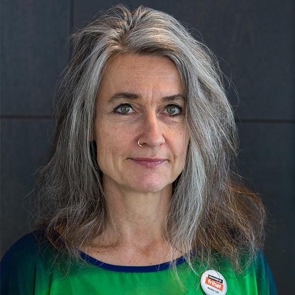 Ordförande Maria Persdotter porträttbild