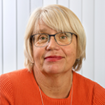 Porträttbild Margareta Holmqvist