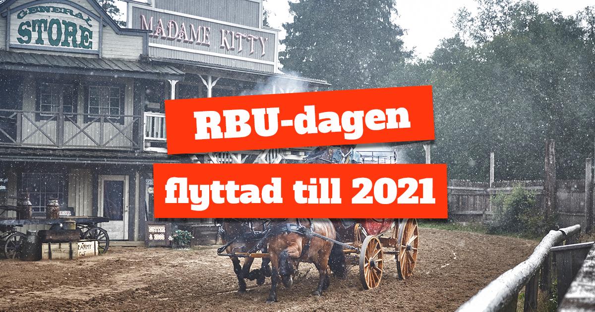 RBU-dagen flyttad till 2021