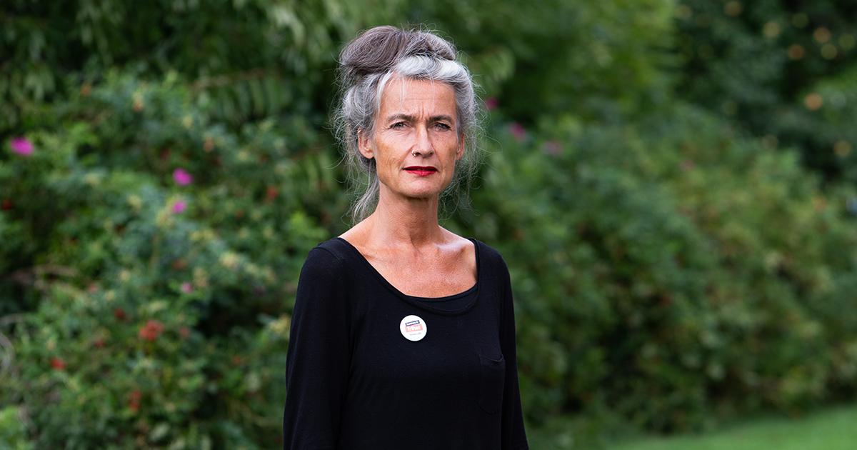 Förbundsordförande Maria Persdotter